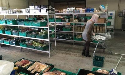 Food waste supermarket in UK. The real junk food project