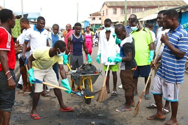 sesawosuban and Let's clean Ghana